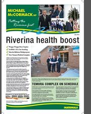 Putting the Riverina First - Newsletter July 2012