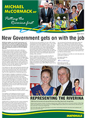 Putting the Riverina First - March 2014 Newsletter