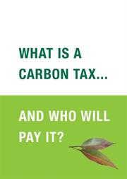 What is Carbon Tax and who will pay for it?
