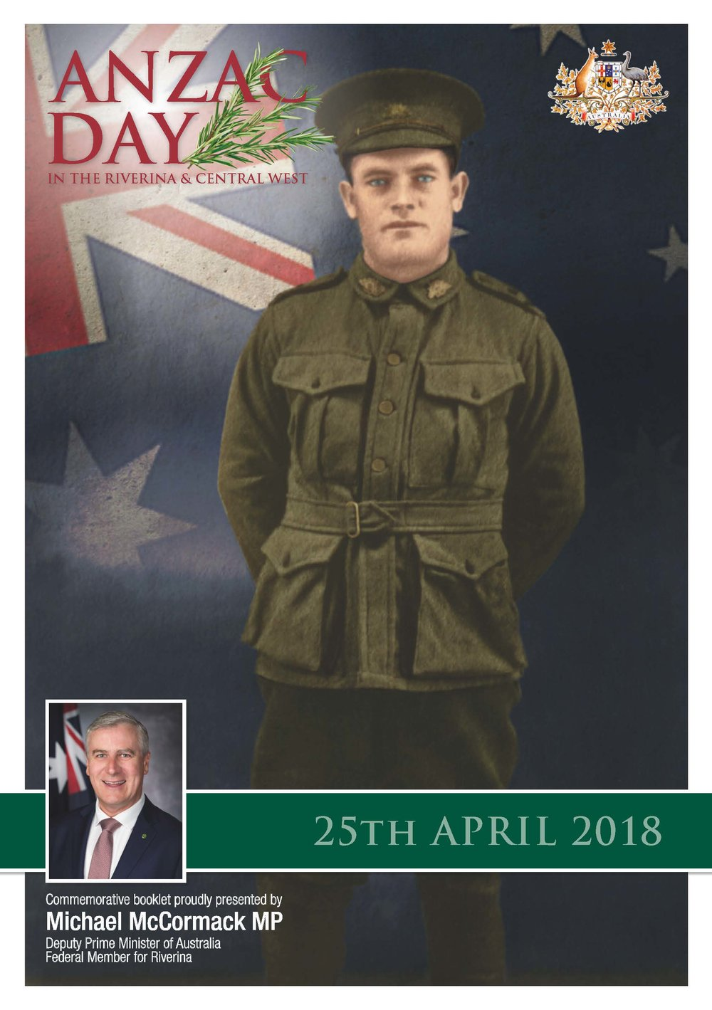 2018 ANZAC Day Booklet