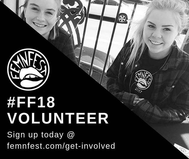 Want to get involved with #FEMNFEST18?  Femn Fest is looking for more volunteers and we'd love to have you on our team! . . . Join the fest    femnfest.com/get-involved
