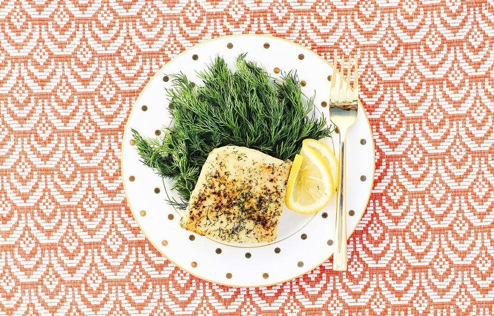 Lemon Dill White Fish