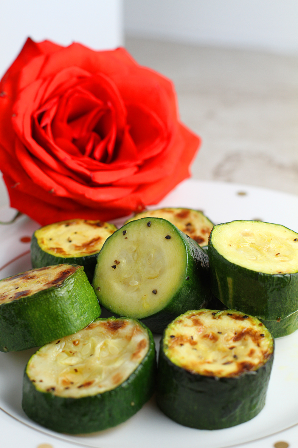 Copy of Roasted Zucchini