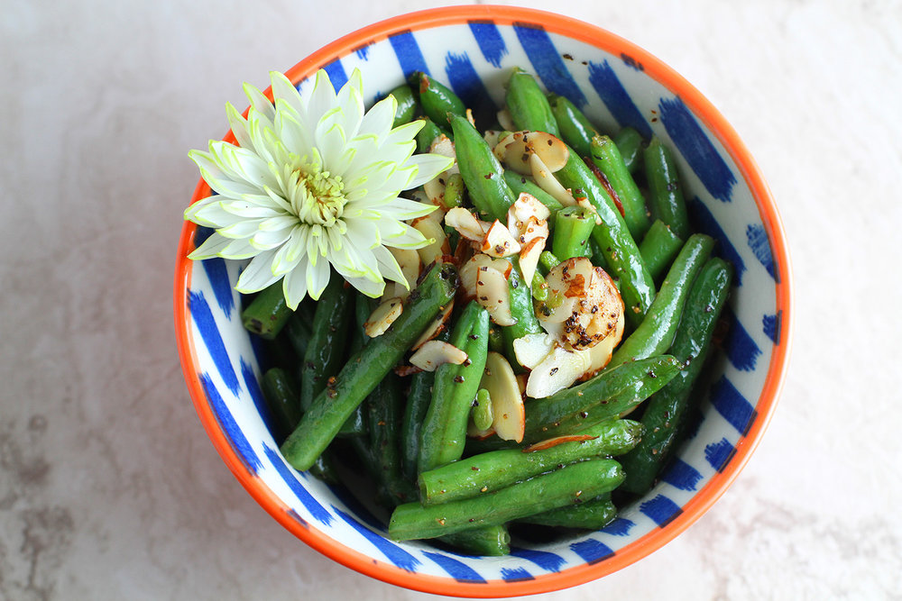 Copy of Green Beans Almandine