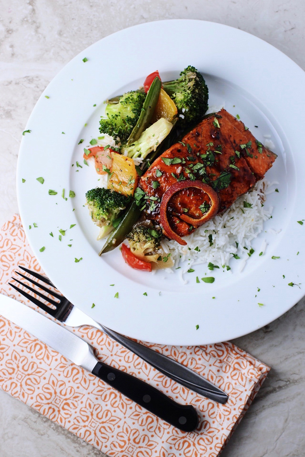Ginger Orange Salmon