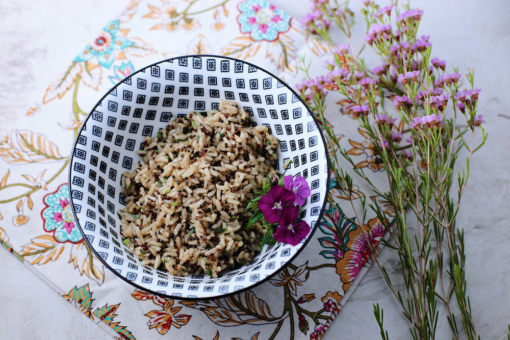 Copy of Brown Rice with Quinoa