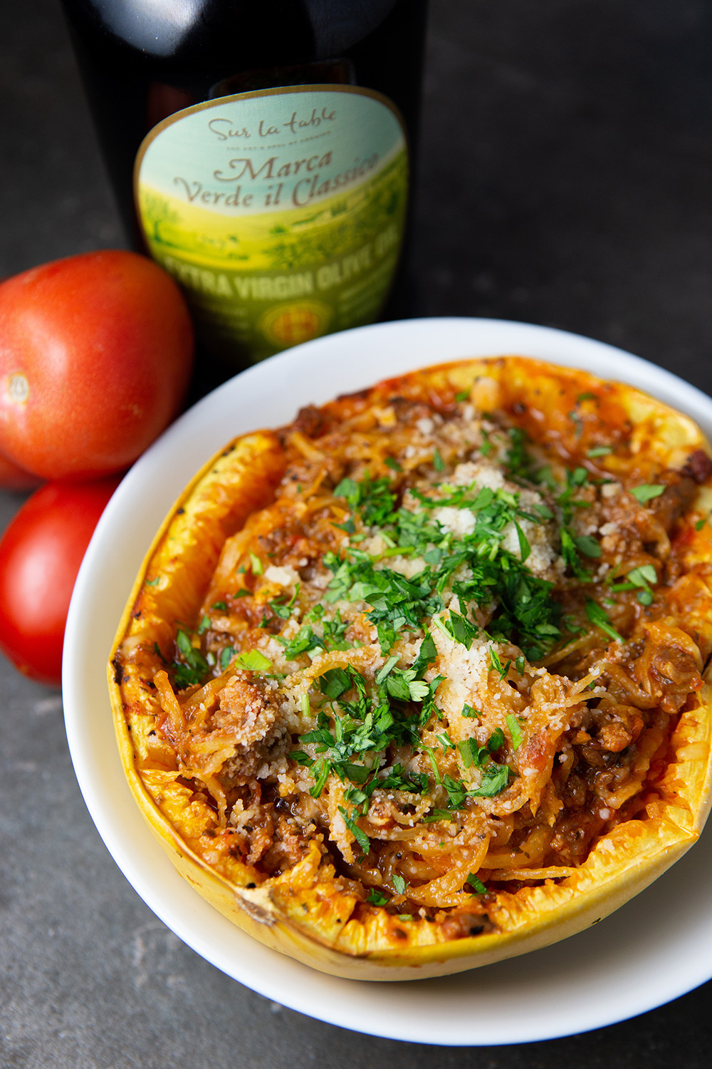 Copy of Spaghetti Squash with Bolognese