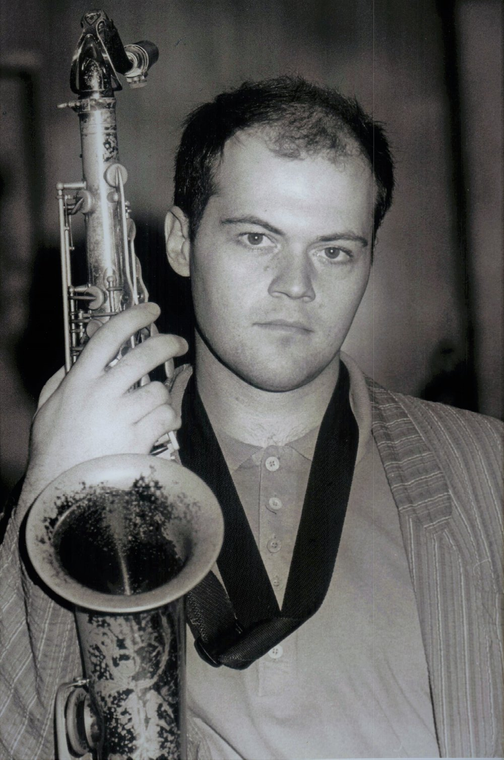 Australian Jazz Orchestra's Dale Barlow  Photo credit Peter Sinclair