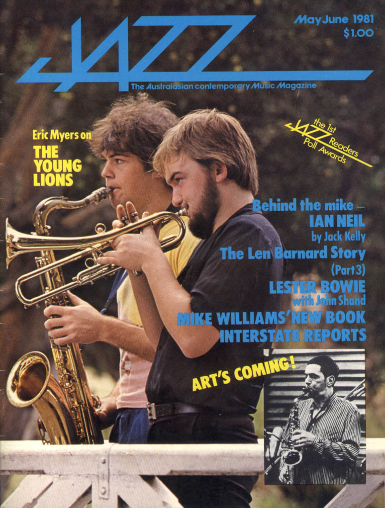 Jazz Magazine, Apr/May, 1981