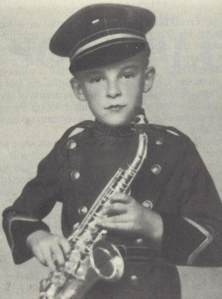 Errol Buddle aged eight...