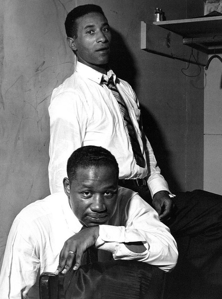 Clifford Brown (front) & Max Roach