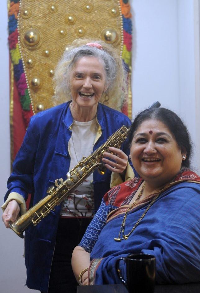 Sandy Evans & Shubha Mudgal