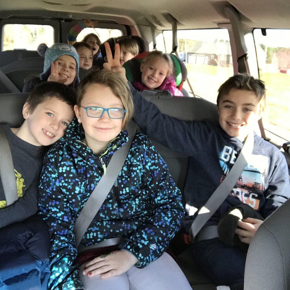 After School Transportation - Days: Monday thru ThursdayTimes: School Dismissal - 5:45Van pick-up for HBS & Coffin students and bus greeters for Woodside & Mt. Ararat students. Space is limited in our van and will be available to current participants first and then on a first come, first serve basis.Includes a healthy snack before Trails classes.