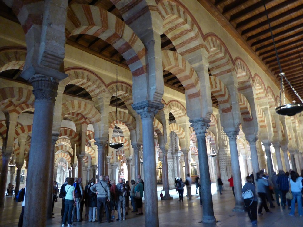 Inside the Mezquita