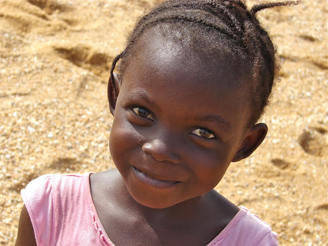 Here is Eve on the beach in January of 2013. That knowing smile on her face is because she believed (we all did) that she would be coming to the US with the team of people from OBOH. As you know, the medical visa failed.