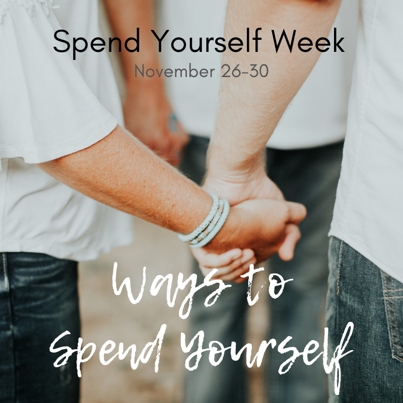Ways to Spend Yourself