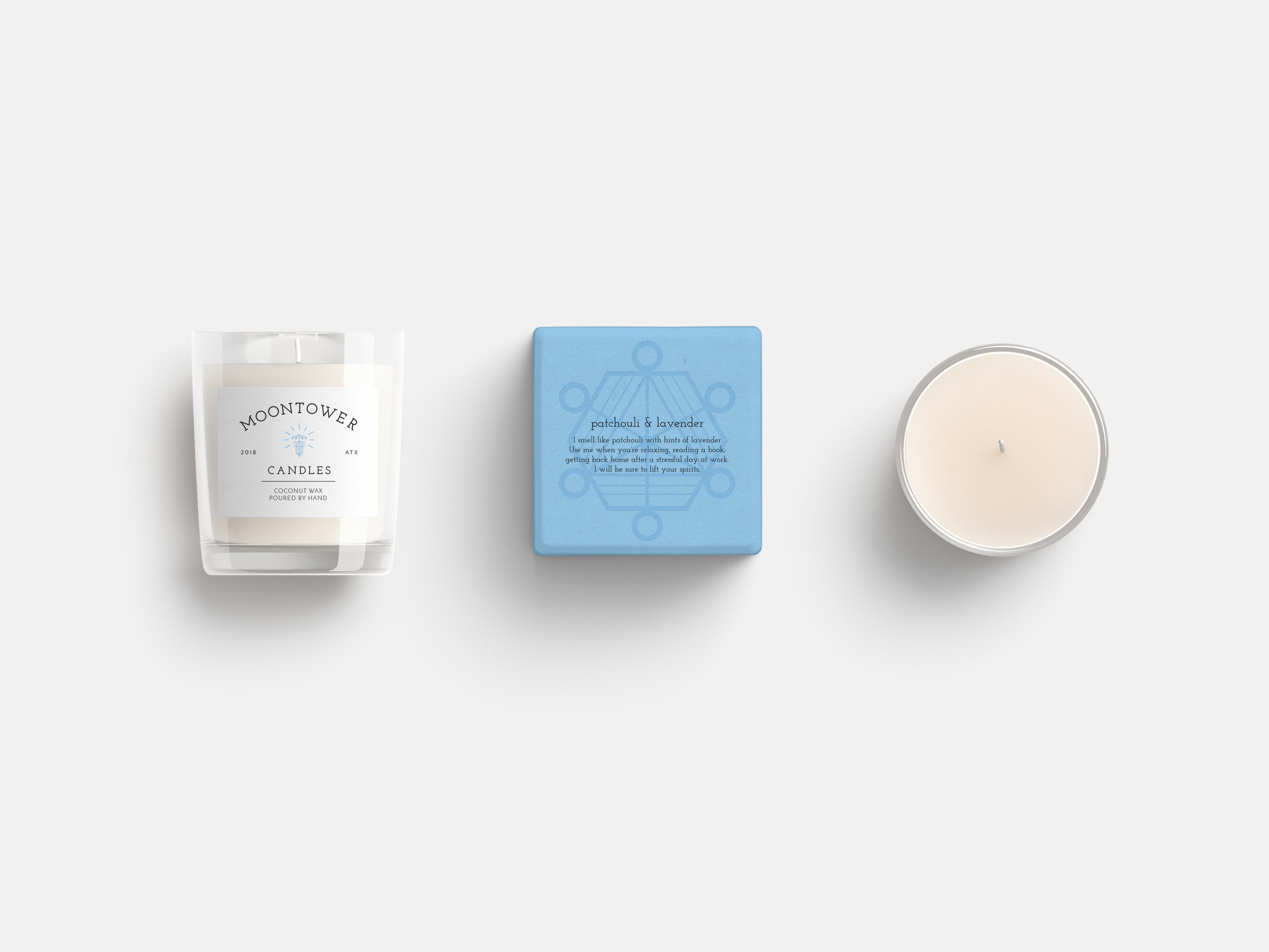 Moontower Candles — Katherine Talley