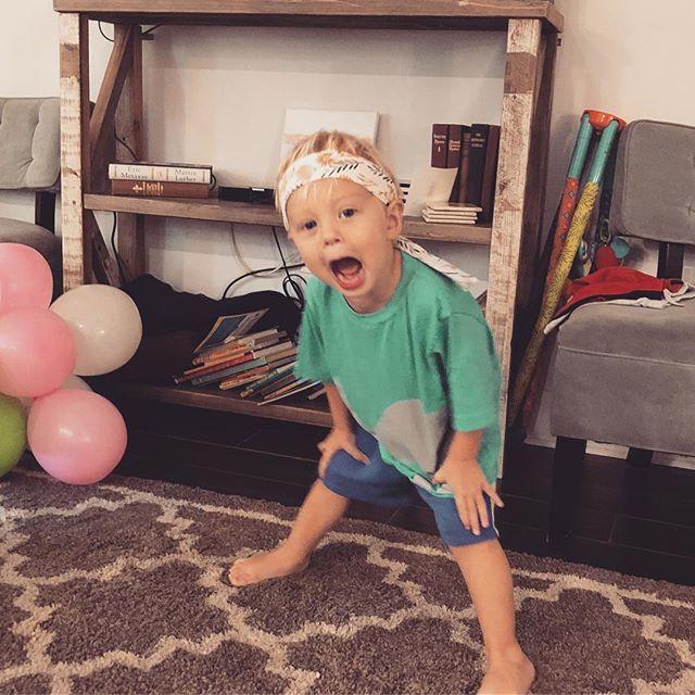 Happy 2nd birthday to my fun-lovin' little best friend!