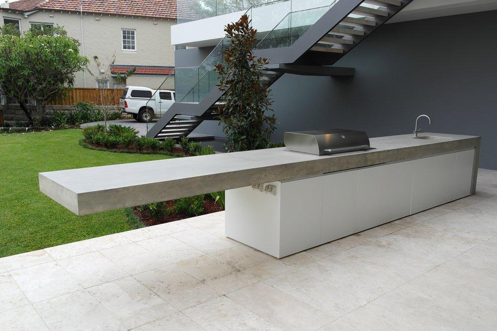concrete outdoor kitchen build outdoor kitchen concreative