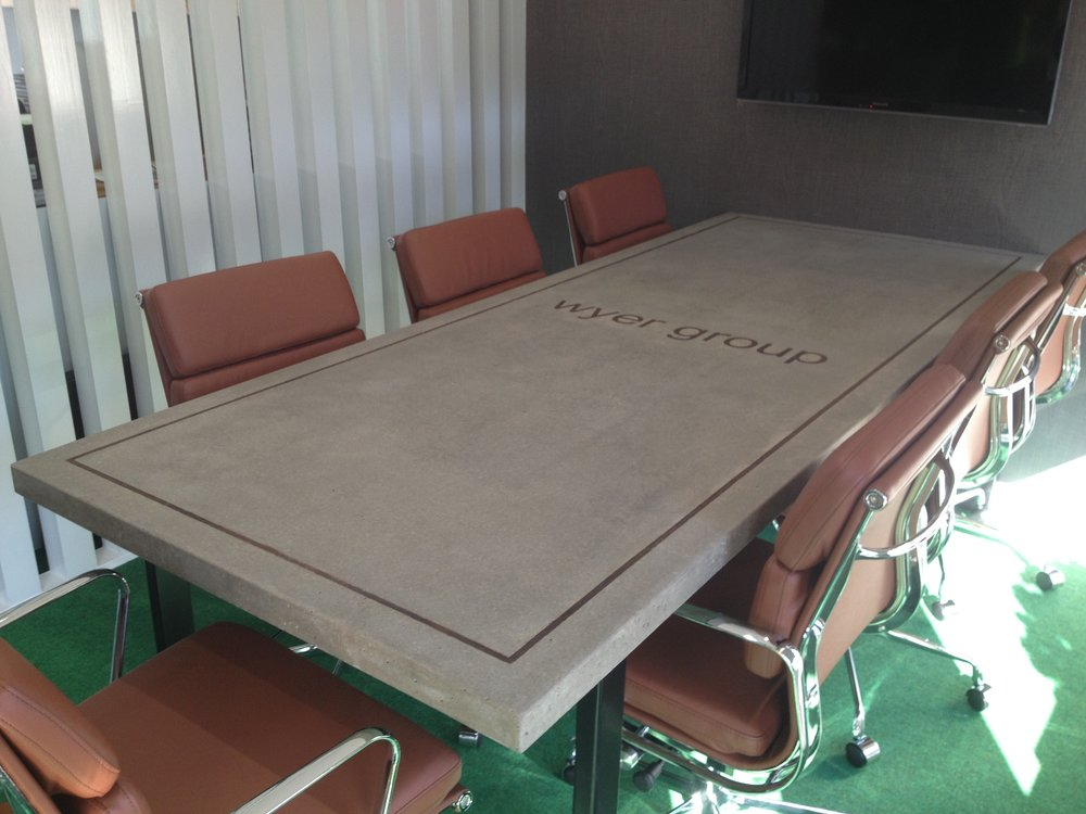 Wyer Group - Conference room table