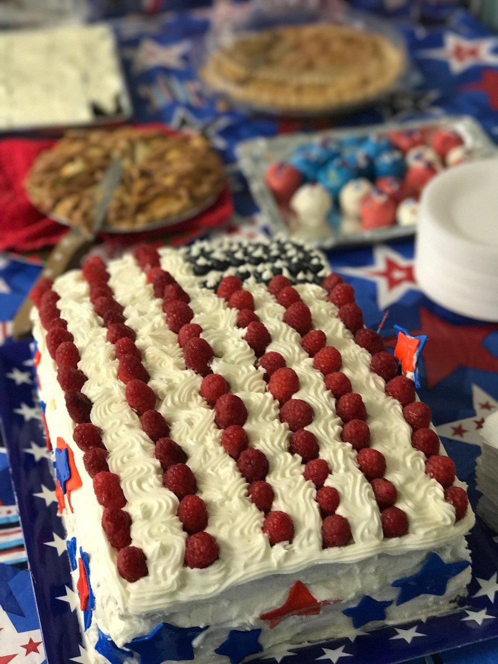 Celebrating the U.S.A.