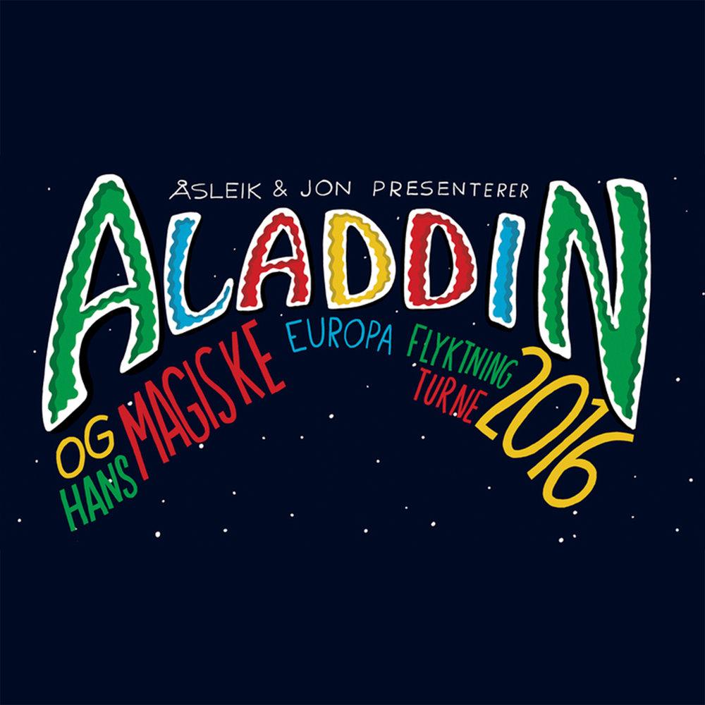 Aladdin og hans magiske europaflyktningturné