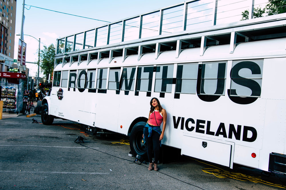 SXSW 2017: Viceland is a TV Channel. But it's also a Really Fun Bus.