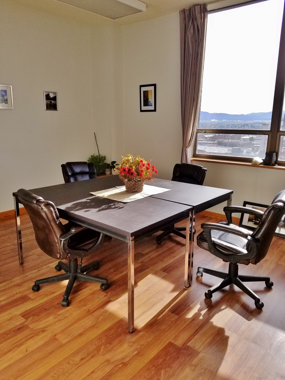 Bright meeting space available for rent...