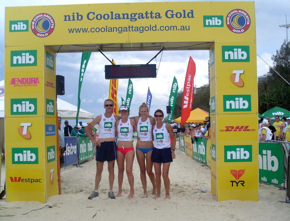 Family Coolangatta Gold team - 2009