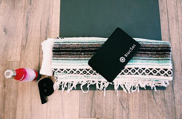 Are you ready to have a cleaner yoga practice? BlocSoc is a great way to protect yourself from sweat and bacteria on studio yoga blocks. They are machine washable and take up less space in your bag than your water bottle! @swellbottle @mandukayoga  #cleaner #yoga #practice #wevegotyoucovered #blocsoc