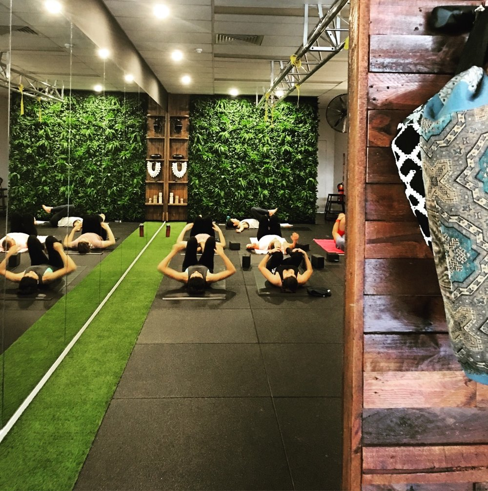 EPIC WORKOUTS DEMAND UNEXPECTED LUXURIES   Beautiful space to inspire and ignite your workout Quality Bang and Olufsen sound Towels and Mats provided free of charge
