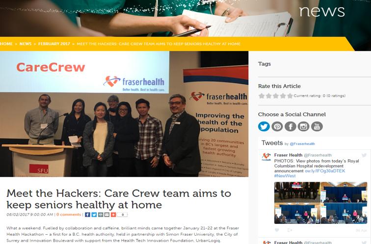fraser health news -