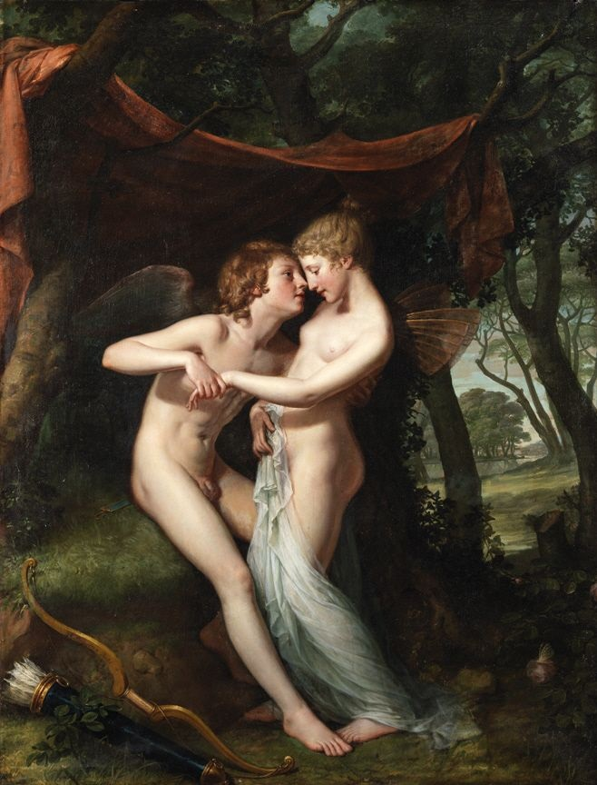 """Thesis Inspiration: """"Cupid and Psyche in the Nuptial Bower"""" by Hugh Douglas (1792-93)"""