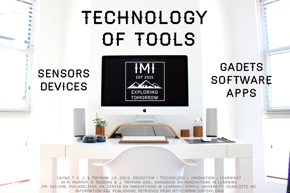 Technology of Tools (hardware, software, sensors, devices, etc.)