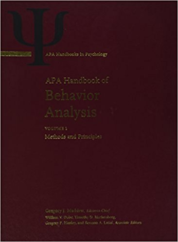 APA Handbook of Behavior Analysis (APA Handbooks in Psychology) 2-Volume Set