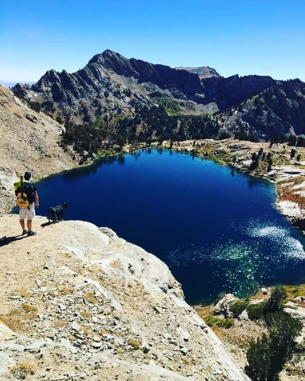 Ryan O'Donnell - Ruby Mountain Range, Nevada - Photo Credit: Amanda De Caro