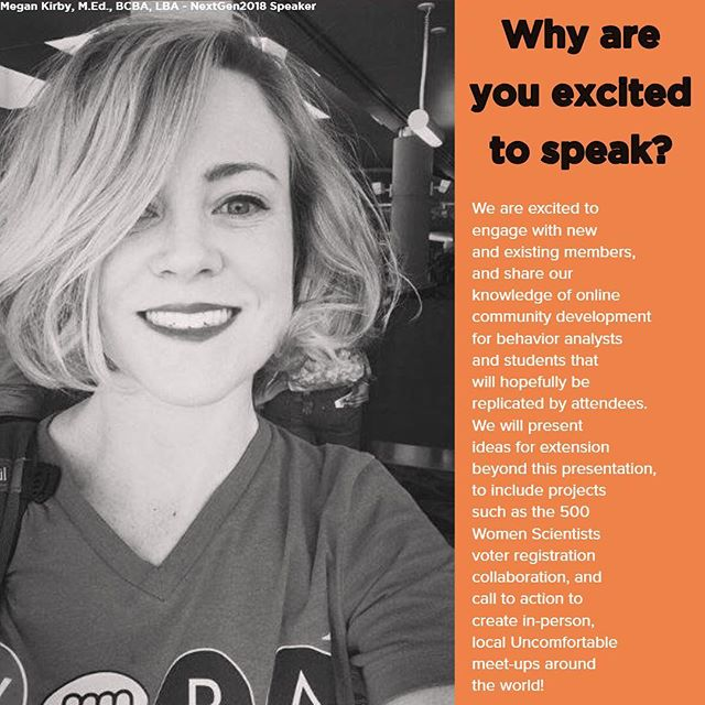 @megansullivankirby of TEAM UNCOMFORTABLE will be at the event this year. You're an inspiration and we praise the PhD line you've chosen! So excited to have you! Snag your tickets for online or in SIN CITY! Link in bio: 👊👊👊 . . . . . #thedailyba #dobetter #abatherapy #abamemes #aba #bcba #behaviorheroes #bacb #behavioranalysis #behavior #behaviorscience #boardcertifiedbadass #bcba #rbt #apba #behavior #bcbalife #ethics #psy #behavioranalyst #bxplus #abai #psychology #obm #behavior #leadership #allthewaystoaba #ryano #uncomfortbalebcba