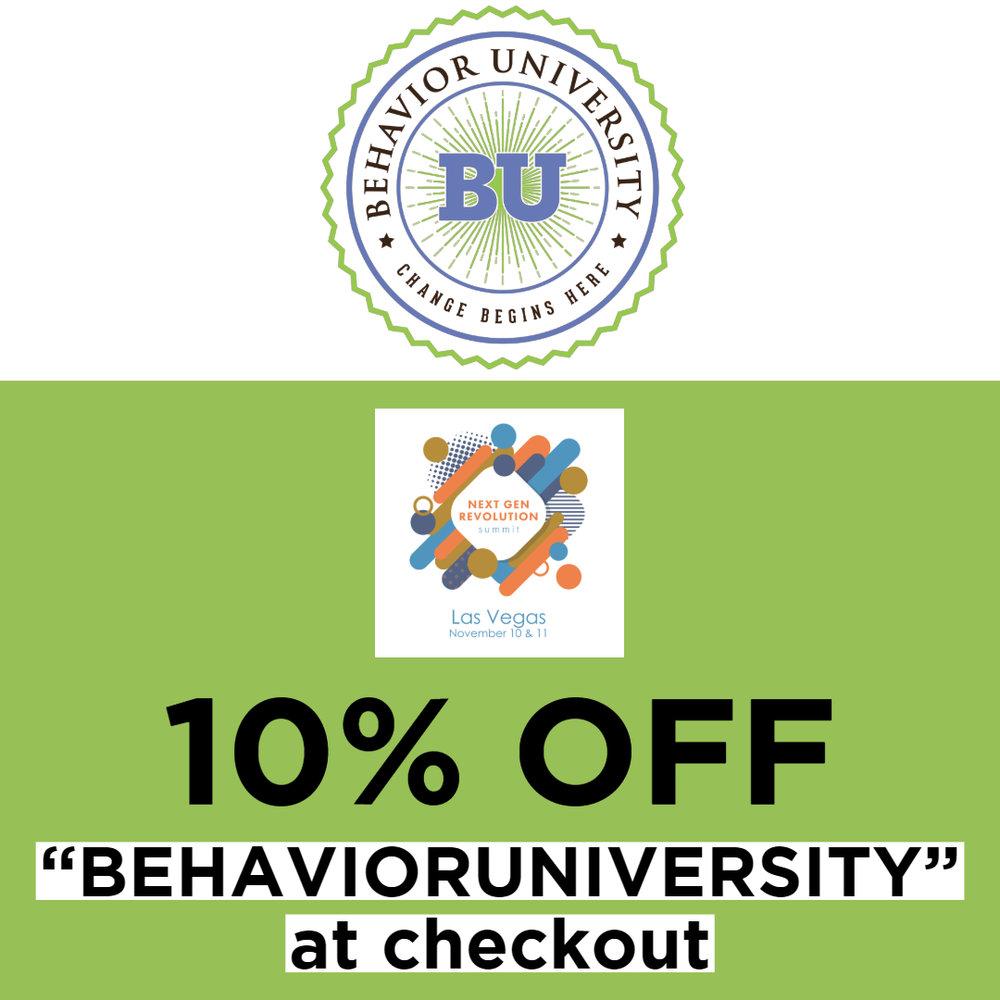 Sponsor: Behavior University