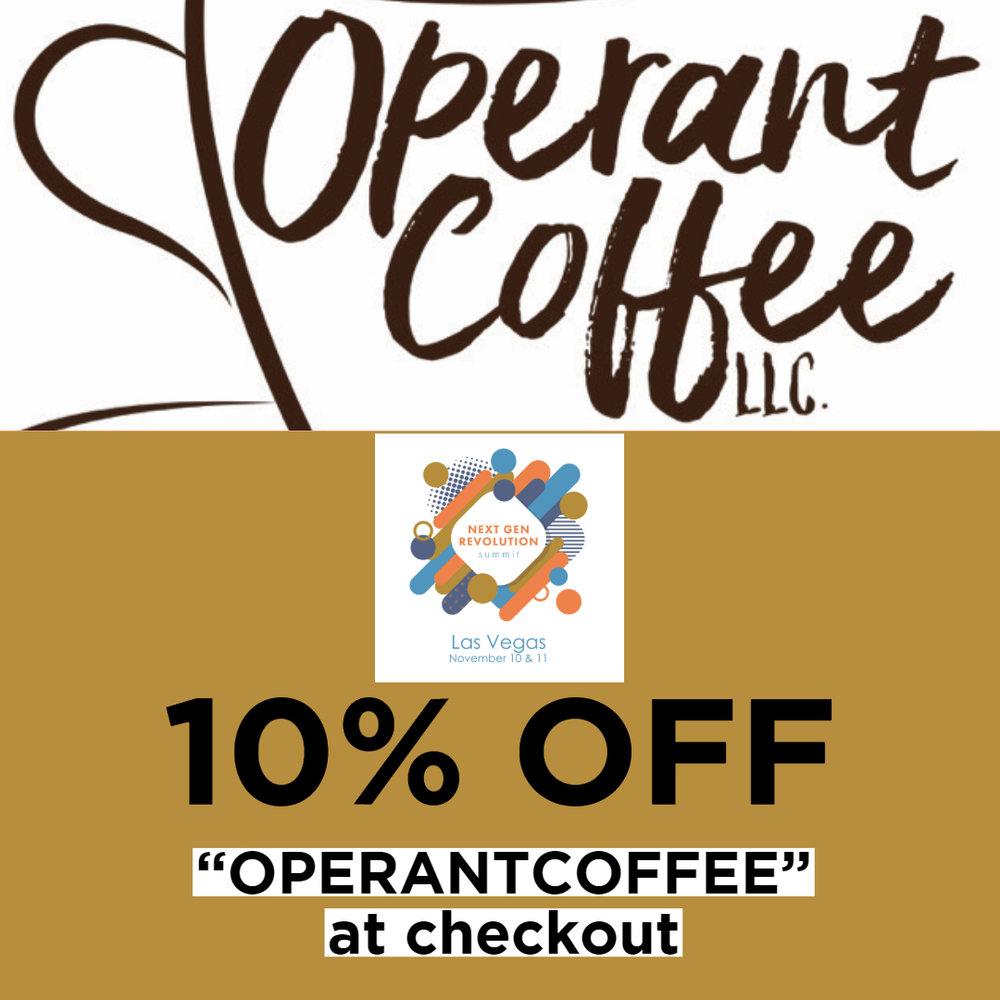 Sponsor: Operant Coffee, LLC