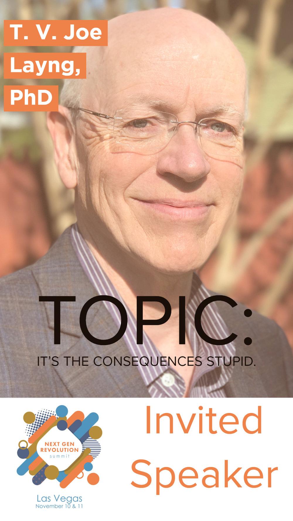 T. V. Joe Layng, PhD