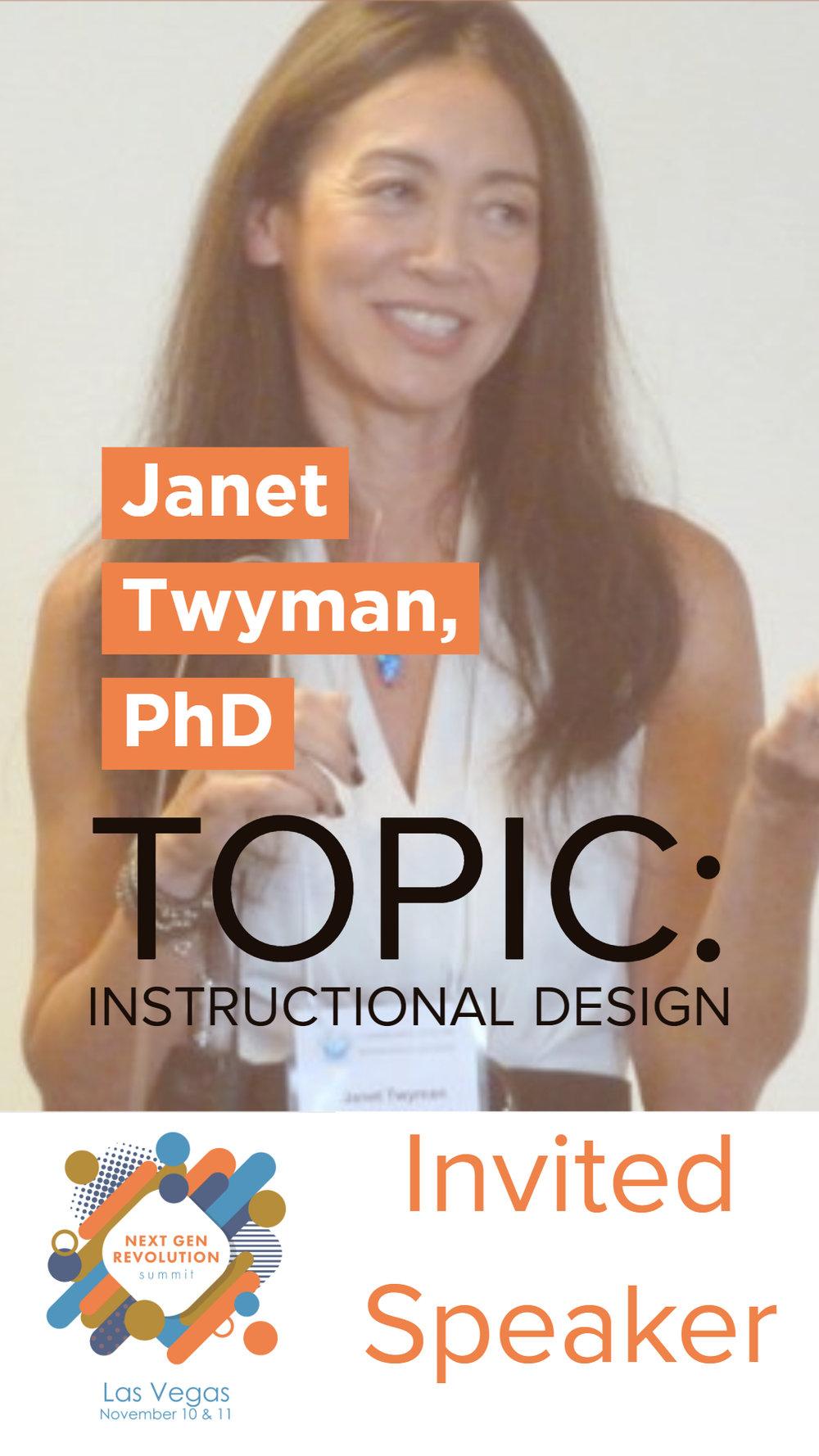 Janet Twyman, PhD, BCBA, LBA