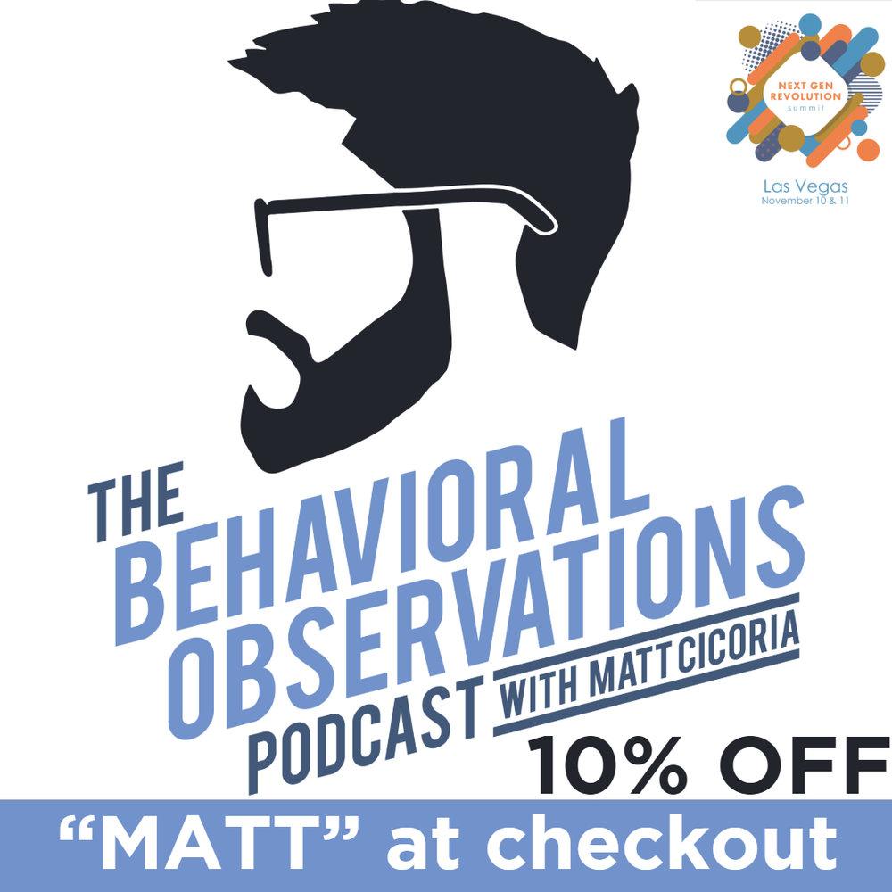 Sponsor: The Behavioral Observations Podcast