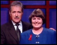 Alex Trebek and Darlene