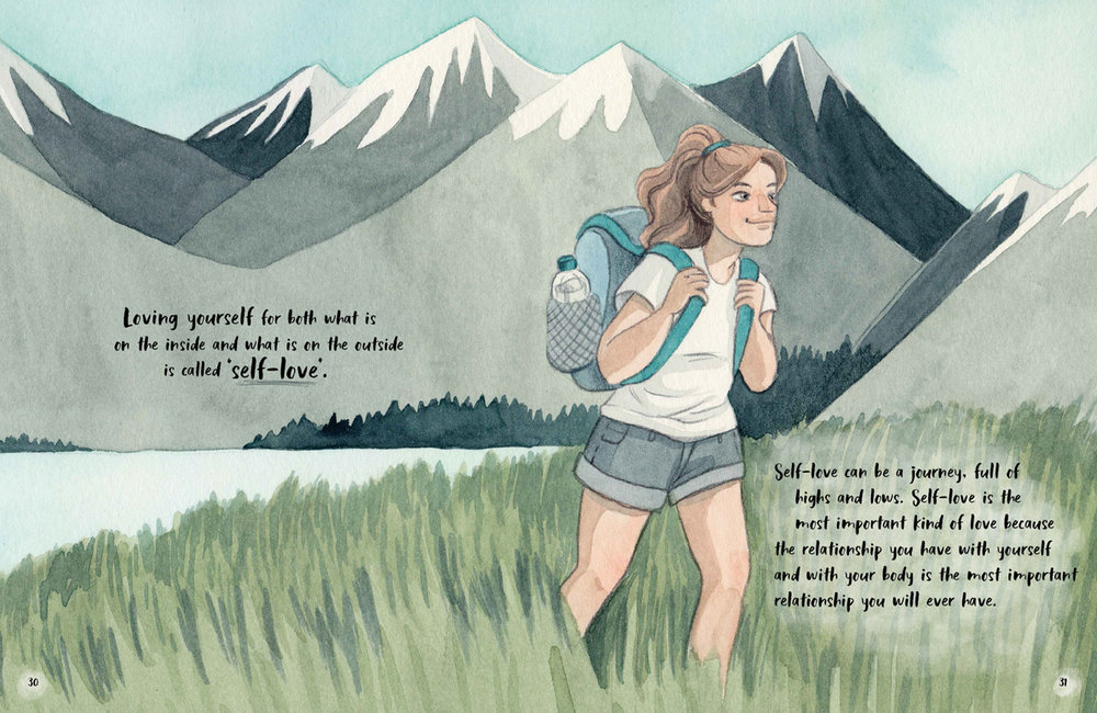 Illustration by Carol Rossetti, words by Jessica Sanders