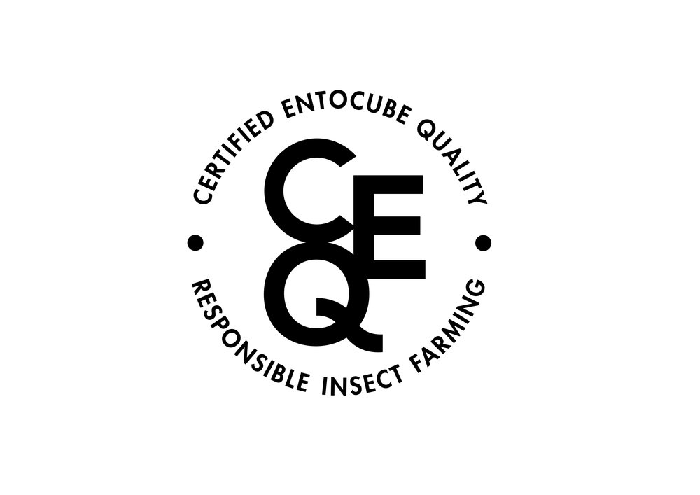 EntoCube network uses custom cricket feed and grants a quality certification only when hygiene and working method standards are met