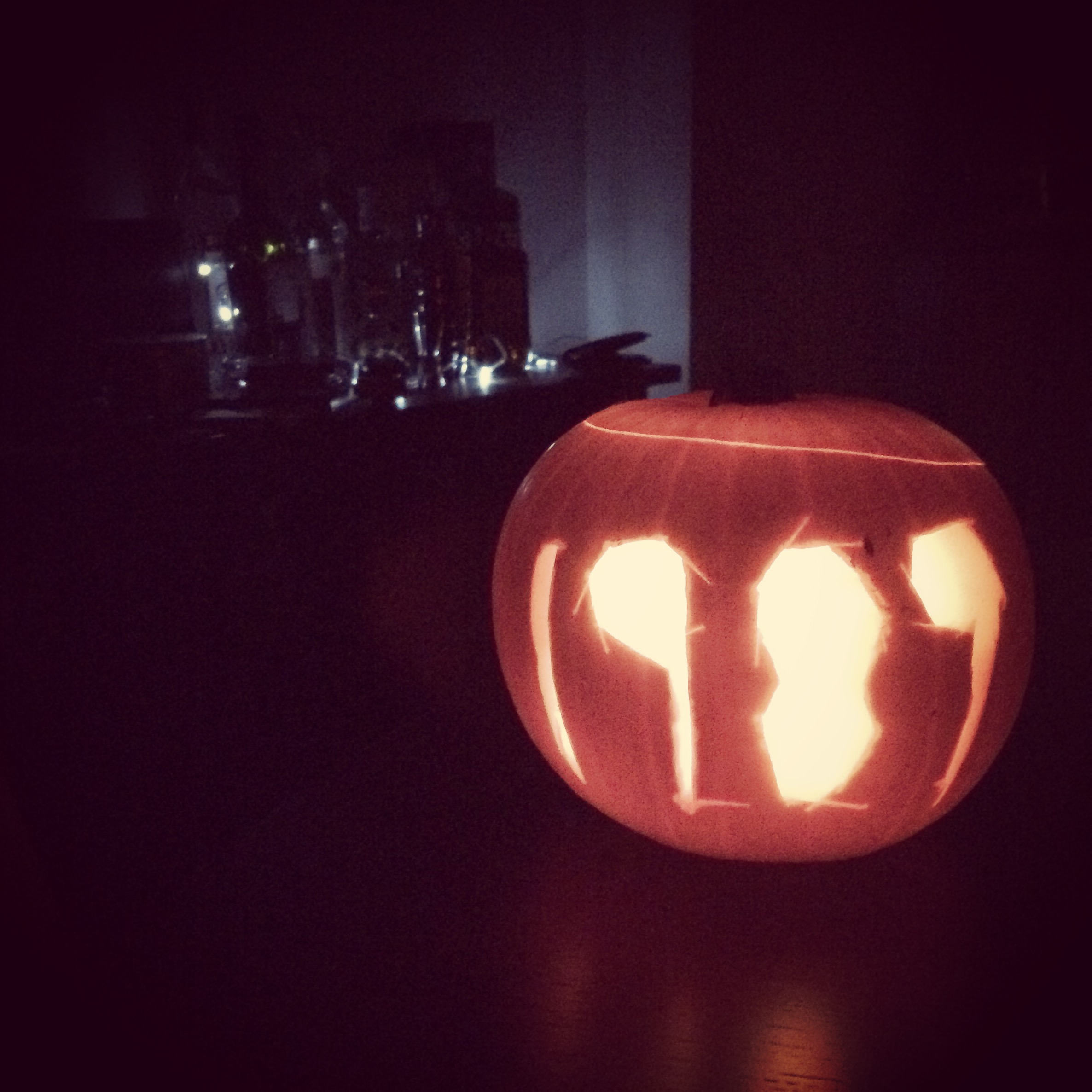 Yes it's a Taylor Swift 1989 themed pumpkin, what of it