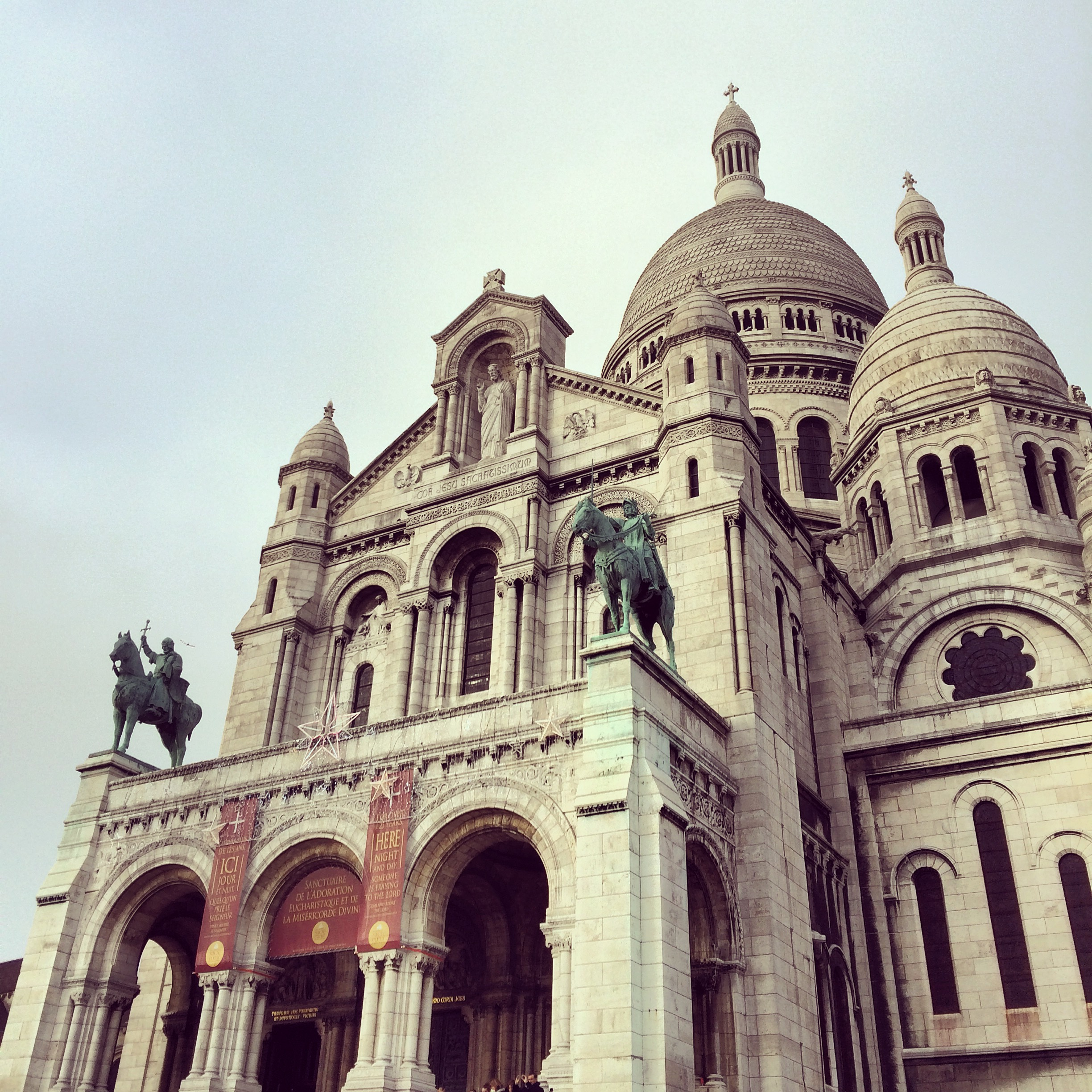 When I was in Paris I went to the Sacré-Cœur and dodged several pickpockets