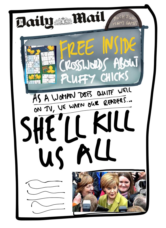 Daily Mail hearts Sturgeon