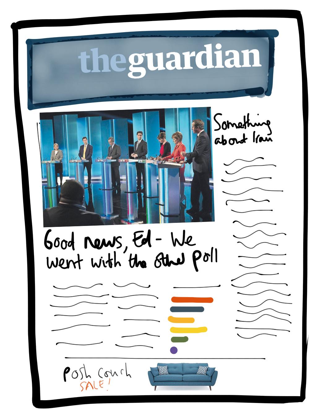 Guardian hearts sympathetic Labour polls