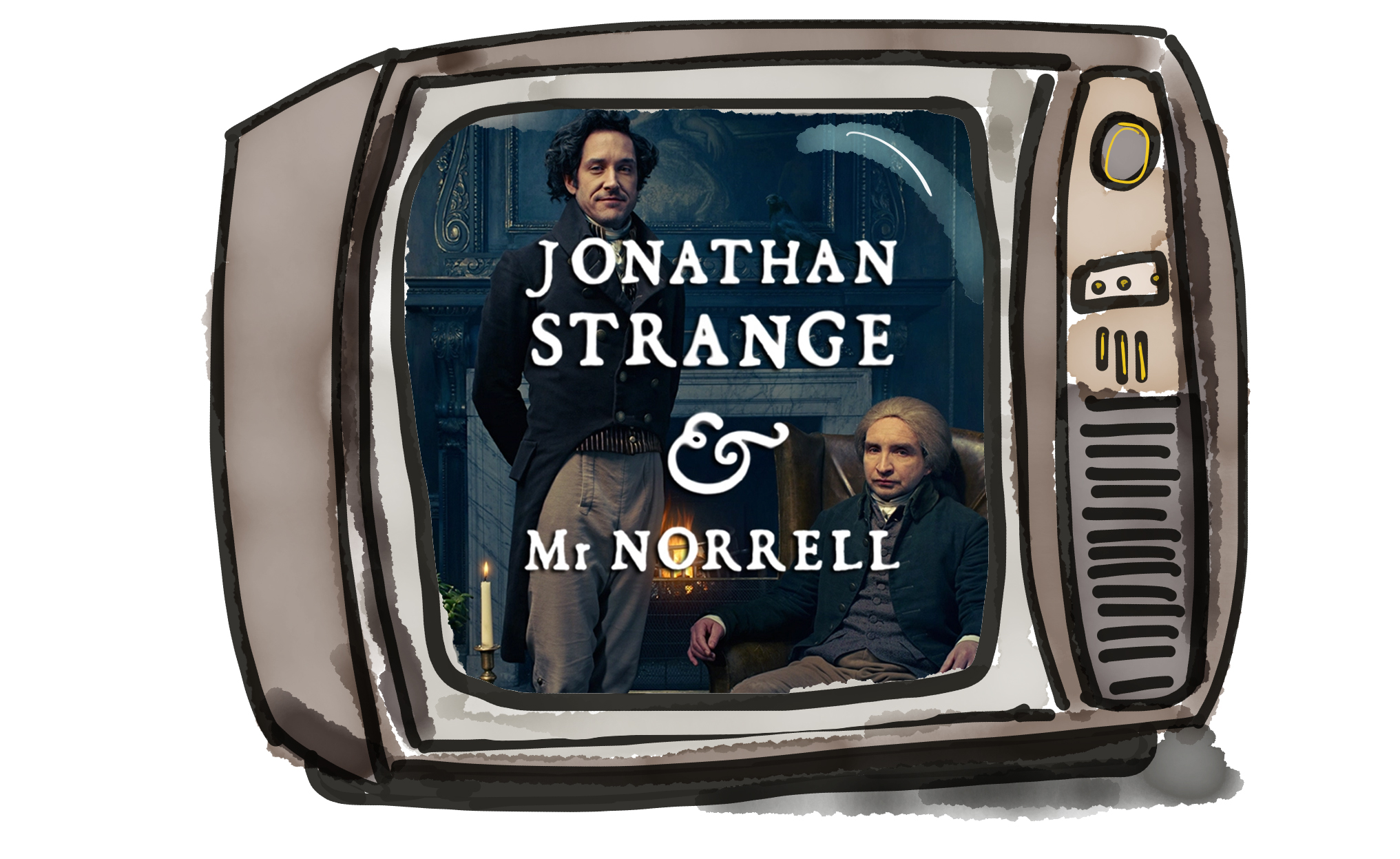 Jonathan Strange & Mr Norrell - the BBC series